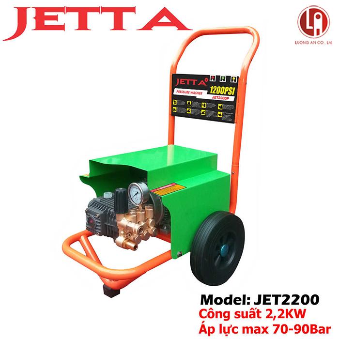 Máy rửa xe áp lực cao Jetta JET2200